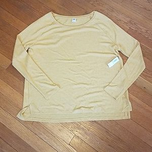 Old Navy mustard sweater